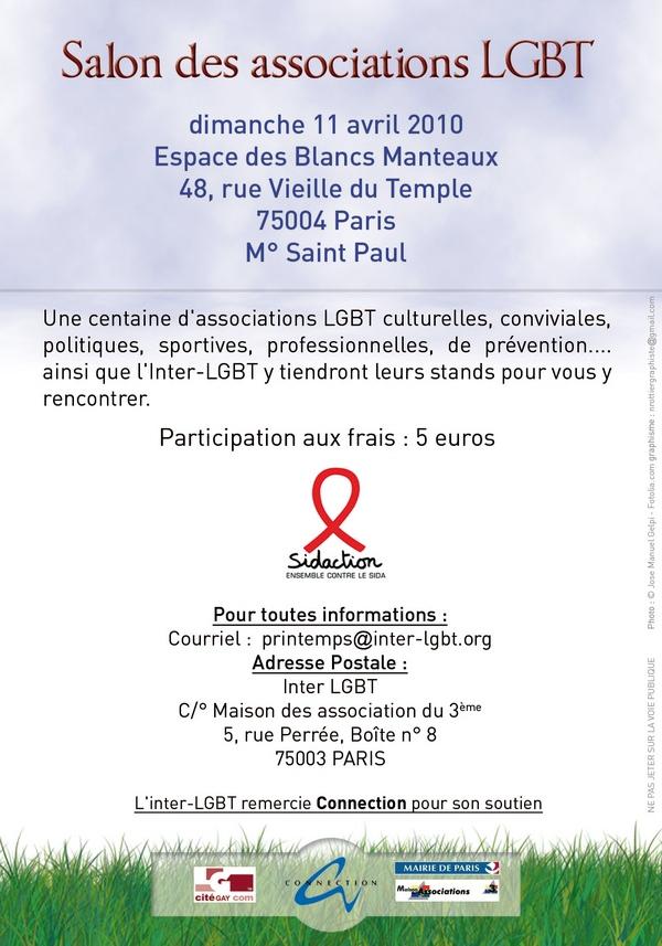 11 me salon des associations sodomites et lesbiennes - Salon des associations ...