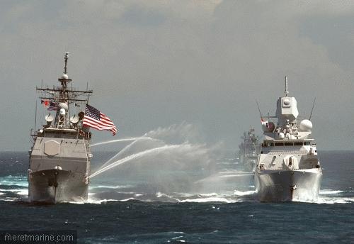 Une armada de navires am ricains et isra liens vers l iran contre info - Liste des porte avions americains ...
