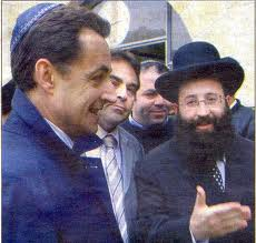 Le rabin parle au radin Sarkozy-kippa
