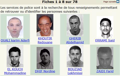 """Résultat de recherche d'images pour """"photo des criminels recherches police gendarmerie"""""""